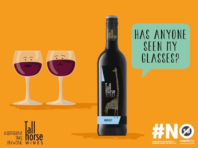 You need your glasses to get you through the week! #TallHorseWines