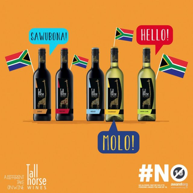 Luckily, our wines are as diverse as South Africa. Happy Heritage Day! #TallHorseWines